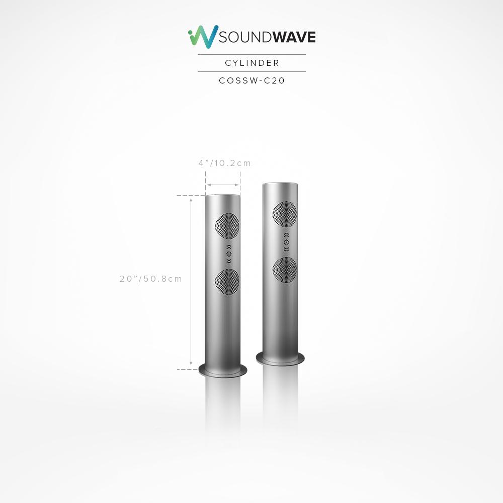 SoundWave Cylinder 20″ (COSSW-C20)