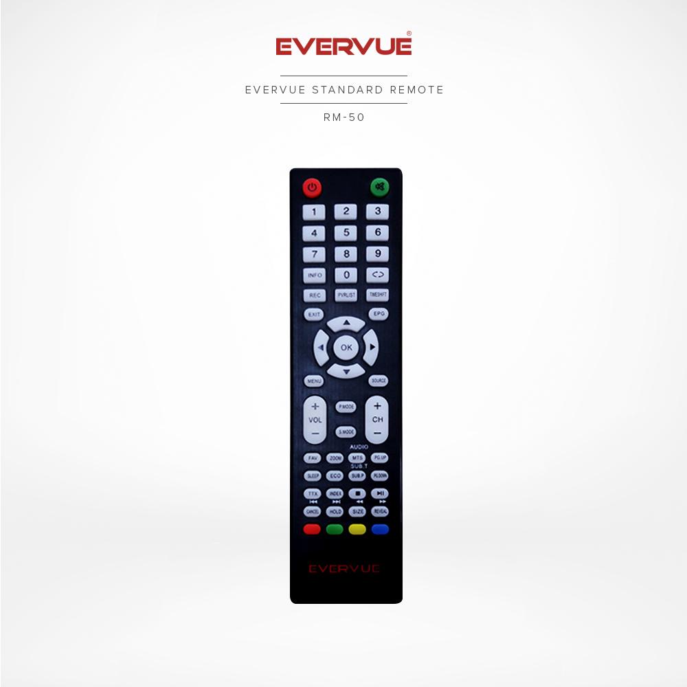 Evervue Standard Remote (Black) (RM-50)