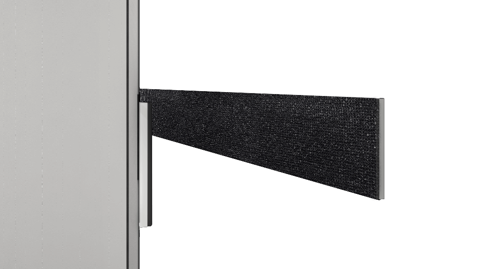 Recessed Wall Mount (External speakers are included)