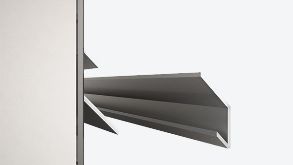 Standard Wall Mount (Recommended for most locations)