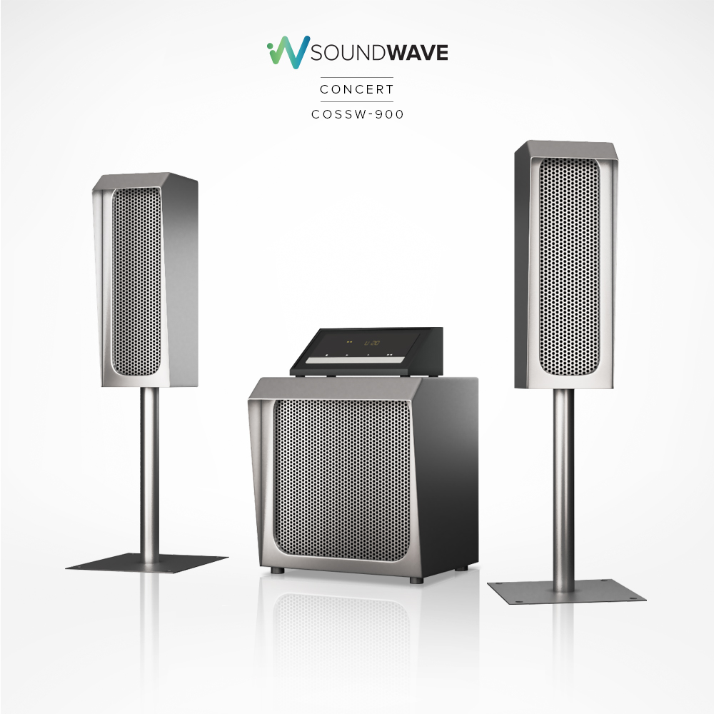 Weatherproof sound system built for outdoors.